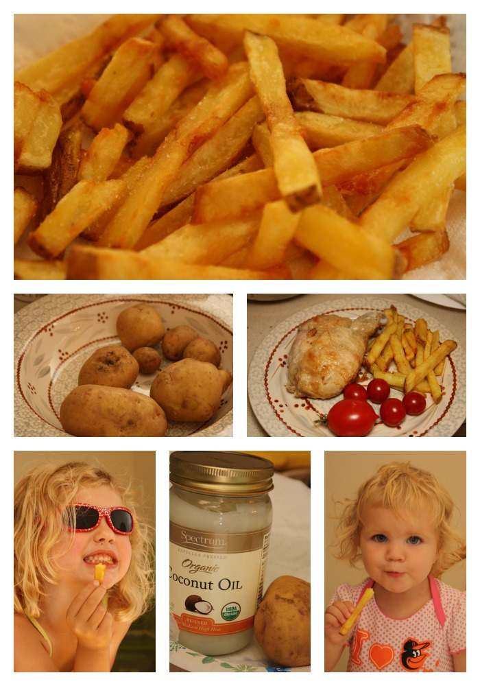Healthy Boardwalk-Style Fench Fries