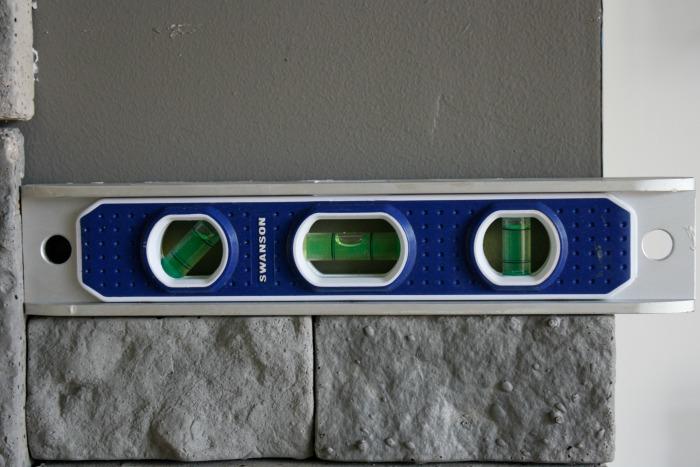 Airstone- use a mini level