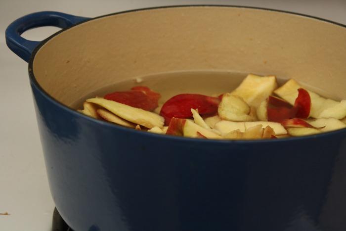 apple peels used to make juice