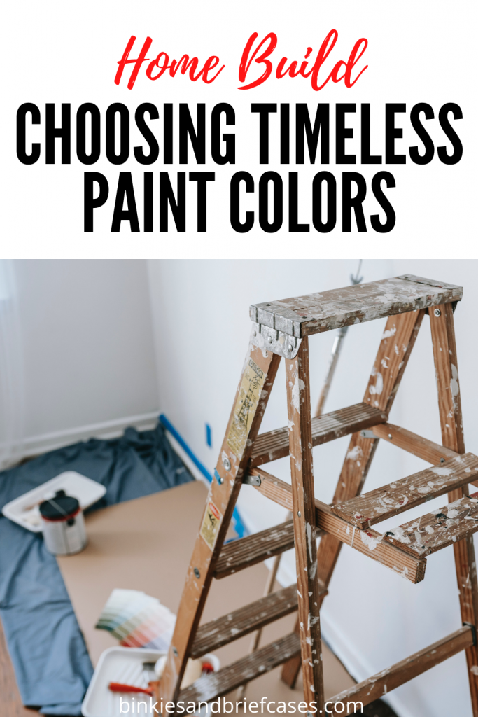 Choosing Timeless Paint Colors