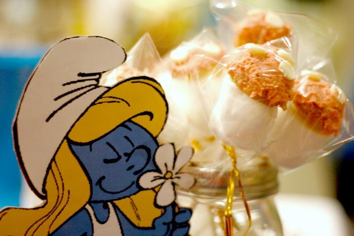 smurf mushroom cake pops #shop