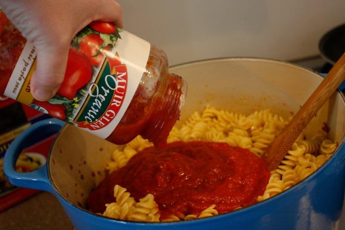 four ingredient pasta bake