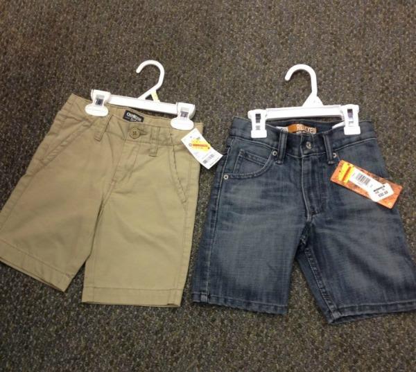 comparing boys shorts