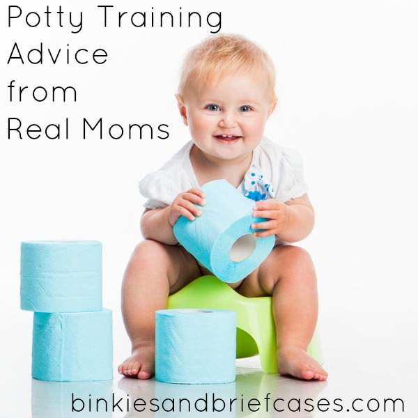 Potty Training Advice From Real Moms