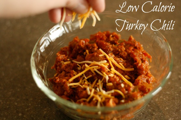 low calorie turkey chili recipe