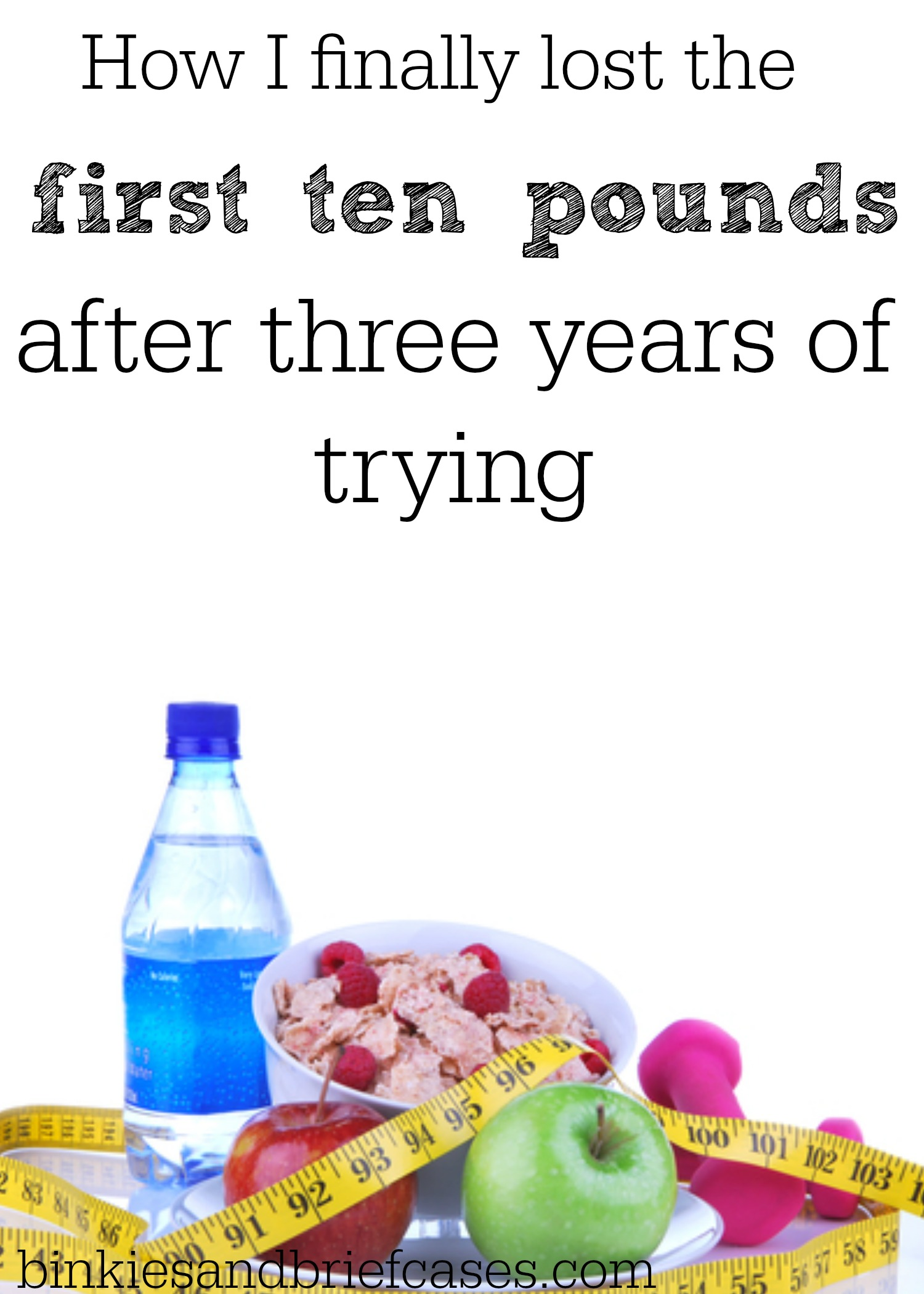 How I finally lost the first ten pounds after trying for three years to lose weight. These are really practical and healthy tips!