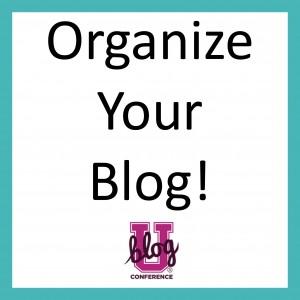 organize your blog online class