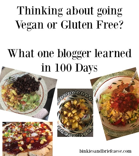 What I learned in 100 days of being vegan and gluten free