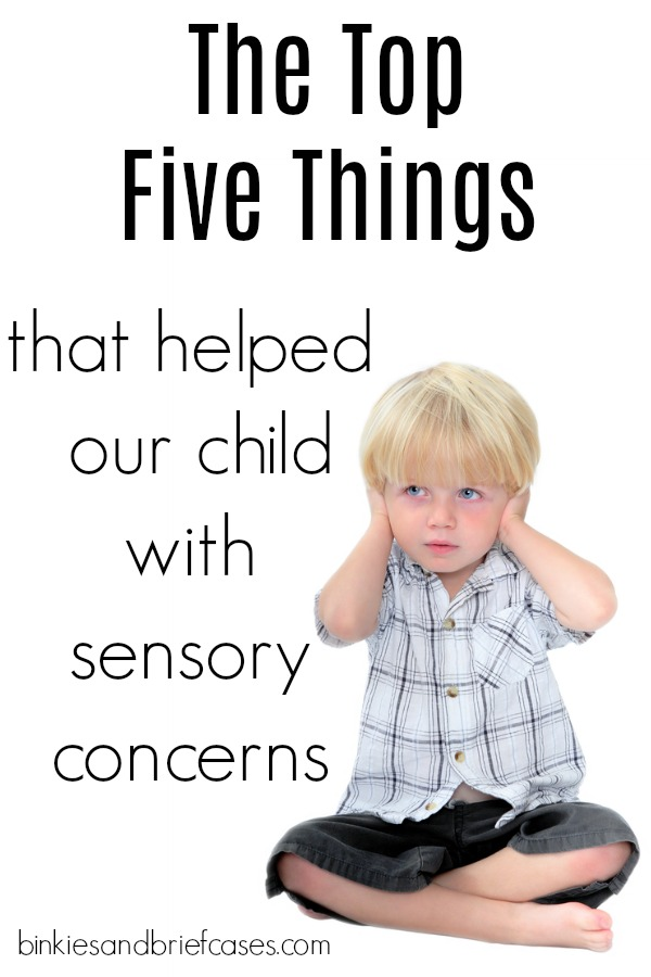 A mom shares 5 products that have helped her son with sensory processing issues