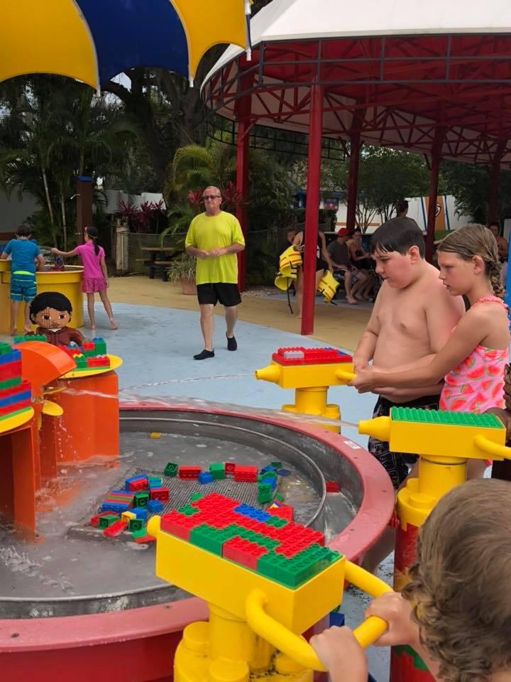 Legoland water games