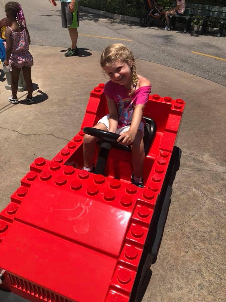 lego car at Legoland