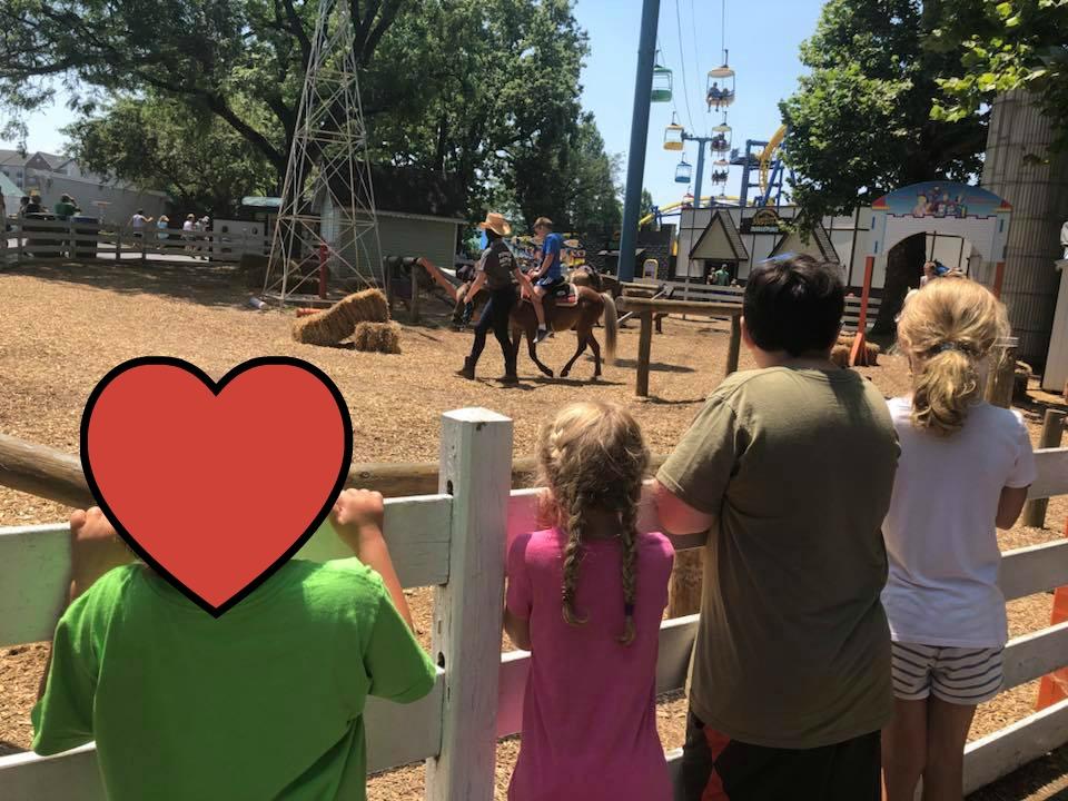 pony rides at Dutch Wonderland