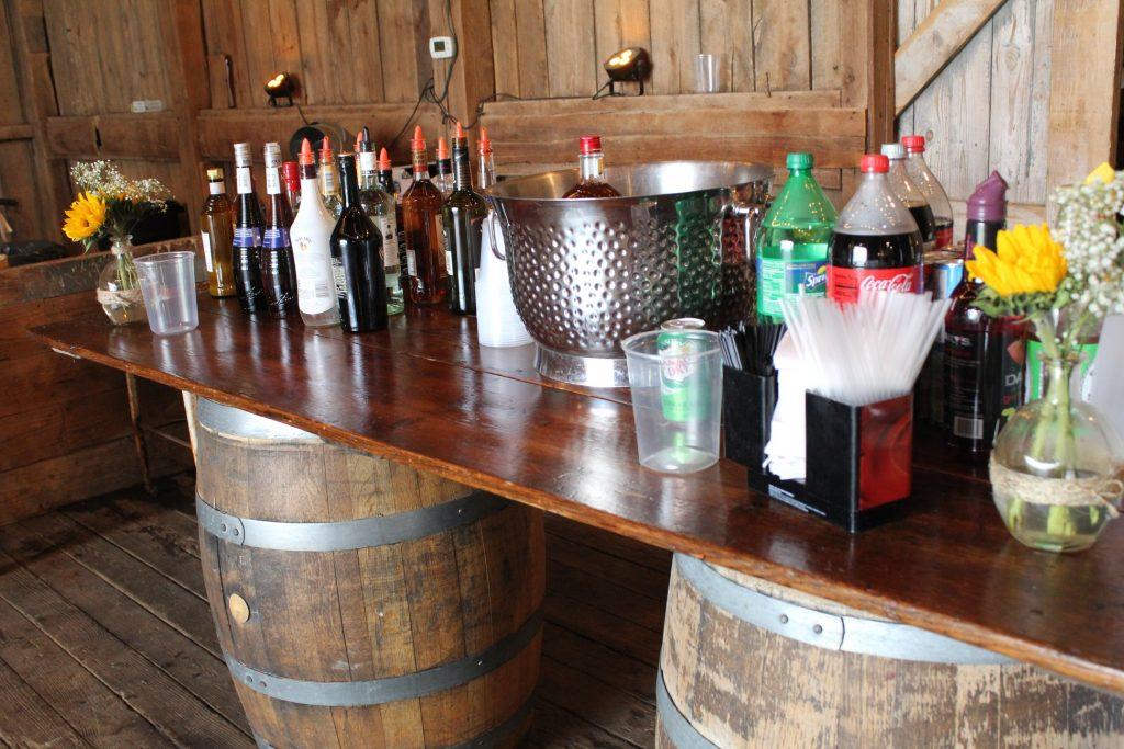 wedding open bar