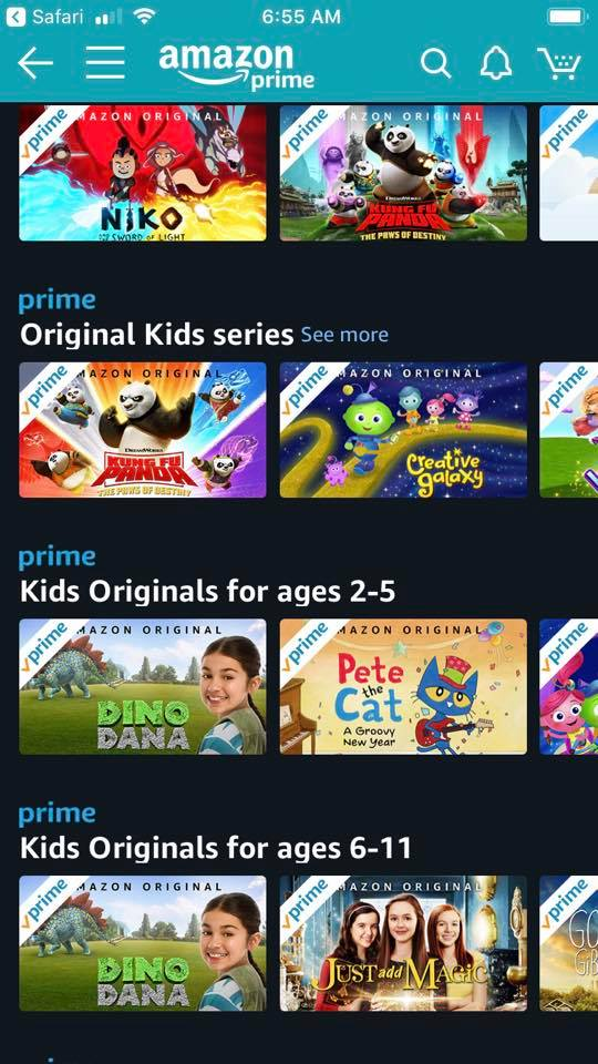 Use Amazon instead of cable