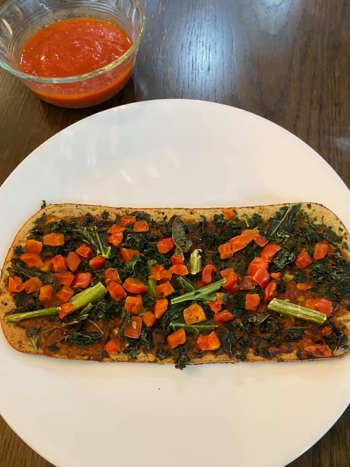 Daily Harvest flatbread