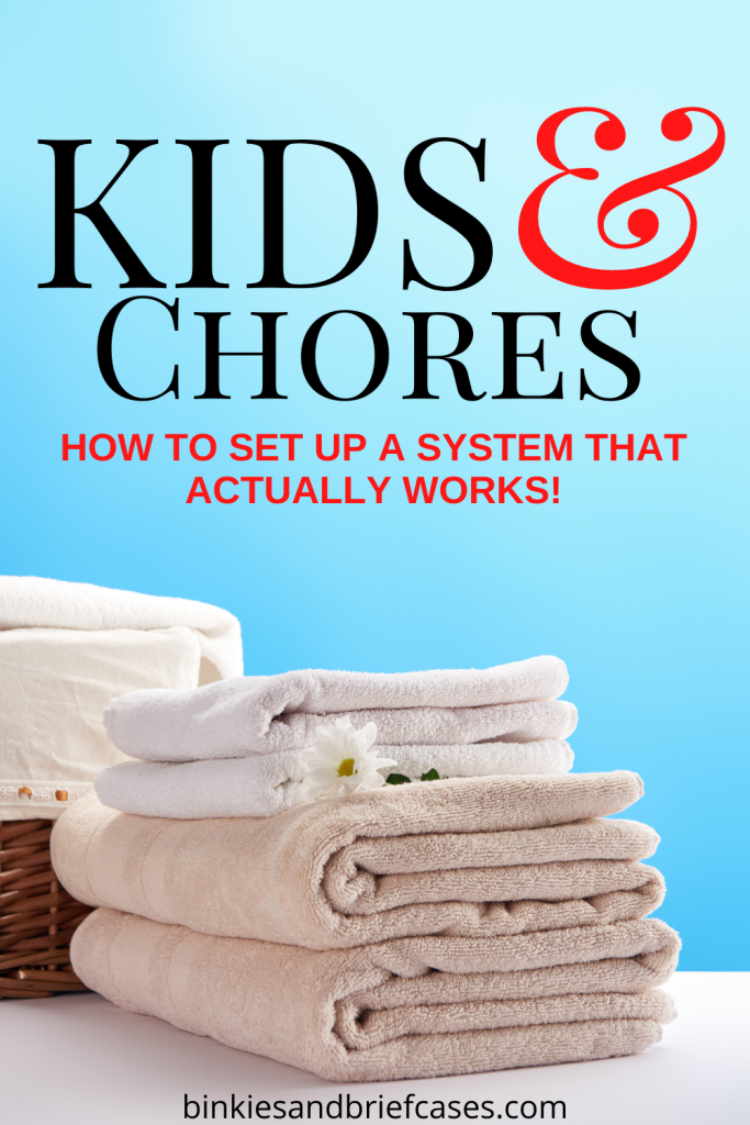 Simple Kids Chore Systen