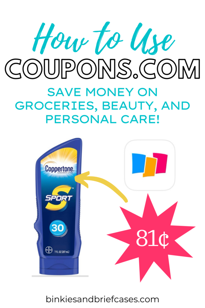 How to Use Coupons.com